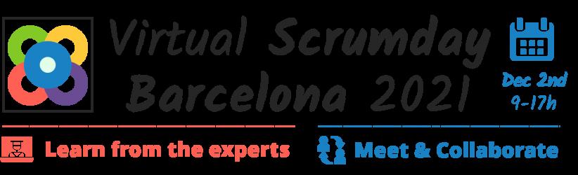 Scrumday Barcelona 2021 - logo EN
